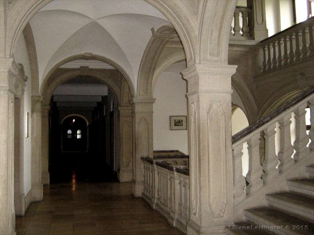 Historisches Gewölbe in der Abtei Himmerod.